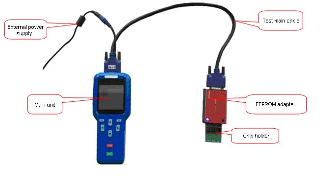 XTOOL-EEPROM-Adapter-XTOOL-X100-PRO- Connecting Diagram-3