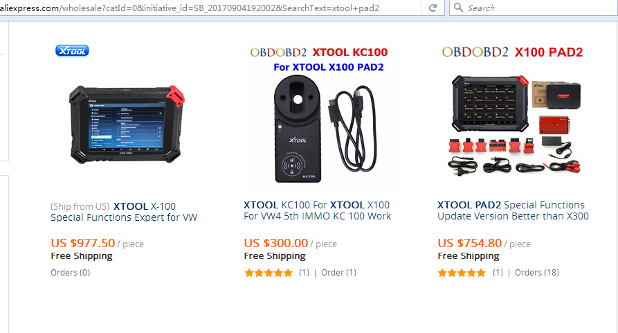 xtool pad2 price on aliexpress