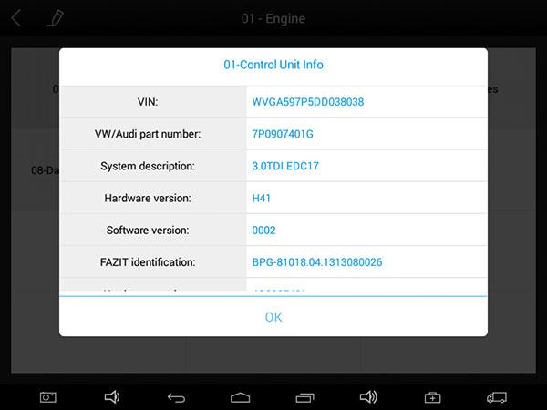 XTOOL EZ400 Pro read ECU