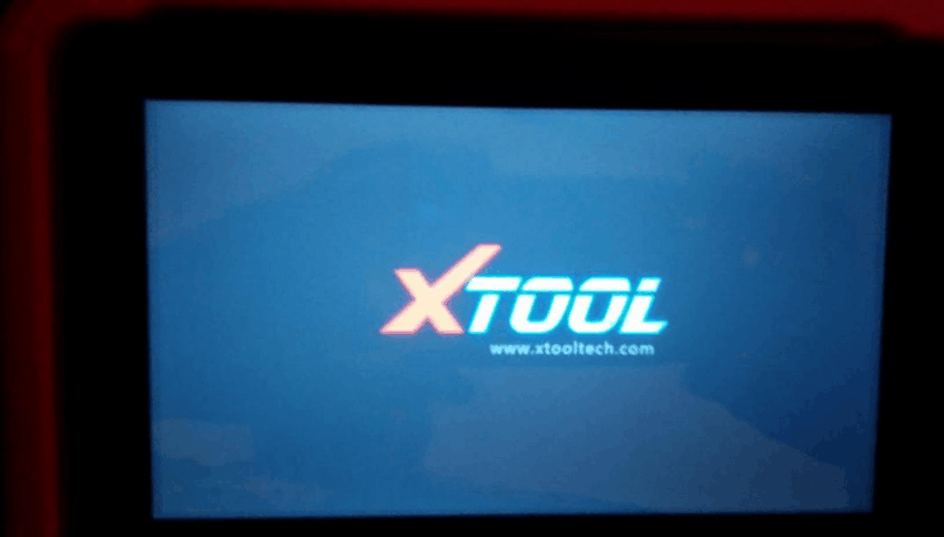 xtool x100 pad error after update