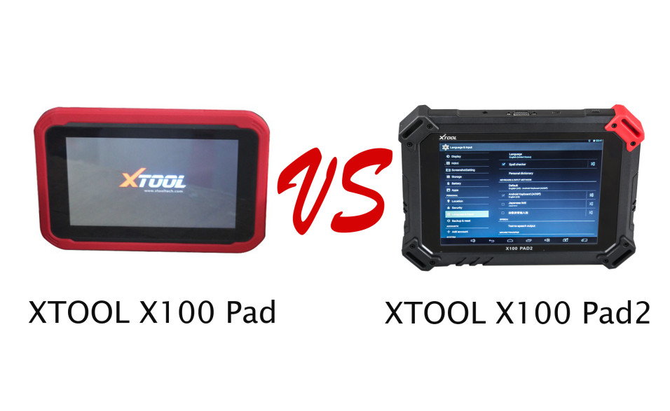XTOOL-X100-PAD-VS-PAD2
