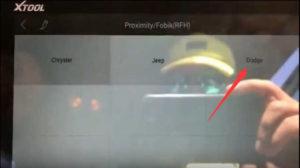 XTOOL X100 PAD2 Program ProximityFobik for Dodge Dart 2013 (3)