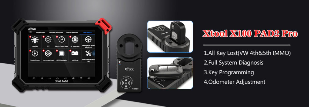 How to program key fob for Dodge Challenger 2011 by XTOOL